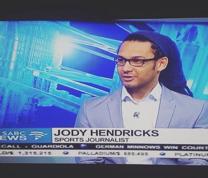 Jody Hendricks on SABC News