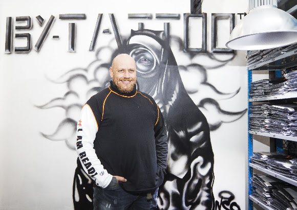 SA-based entrepreneur and tattoo shop owner - Andrew King